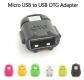 Переходник USB OTG (мама) - microUSB