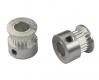 Шкив (ролик) 20-GT2-6 BF алюминиевый для GT2-ленты шириной 6мм, 20 зубьев, на вал 8мм