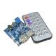 Аудио модуль MP3+WMA +WAV Decoder,  2W, TF Card, Audio AUX, управление с пульта
