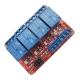 Модуль реле 4-х канальный для Arduino (с оптронной изоляцией 5В, (hight and low level trigger, реле Songle)