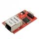 Cетевой контроллер mini W5100 LAN Ethernet Shield Network Module (плата расширения)