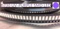 Светодиод SMD 5730 ультрафиолетовый UV-PURPLE 390-410нм 2.0-2.6В 60-150мА