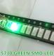 Светодиод SMD 5730 зеленый 520-575нм 2.0-3.6В 60-150мА