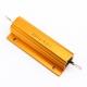 Резистор выводной, 4 Ом 100W 100Вт, алюминиевый корпус