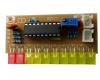 Набор для самостоятельной сборки 10-светодиодного аудио индикатора уровня на базе LM3915