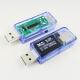 Электронный портативный OLED USB-тестер 9 в 1 (напряжение  3.30-33В, ток 0-5А, мощность, емкость, температура, время зарядки) USB2.0, 3 разряда, синиЙ, белый, черный
