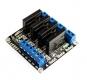 Модуль твердотельного реле G3MB-202P 4-канальный для Arduino (low level trigger) 240В 2А