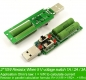 Нагрузочный резистор для тестирования током 1А/2А/3А Usb кабелей, блоков питания и интерфейсов