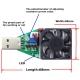 Нагрузочный резистор электронный регулируемый для тестирования током 0,15-3,00А Usb кабелей, блоков питания и интерфейсов