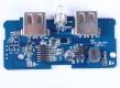 Модуль для Power Bank зарядное устройство с двойным USB 5В 2*2.0A для 1-6 шт аккумуляторов 18650 с LED-индикацией
