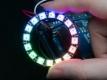 Светодиодная сборка CJMCU  WS2812B-16, 16 smd RGB 5050 светодиодов WS2812, 4-7В, последовательный интерфейс, диаметр 45мм