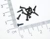 Саморез М1.7x6 мм с полукруглой головкой, черный (упаковка 5 шт)