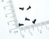 Винт саморез М2.3x5 мм с полукруглой головкой, черный (упаковка 5 шт)