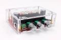 Корпус пластиковый для компактного готового усилителя 2.1 класса D 2 х TPA3116 2 х 50Вт + 100Вт subwoofer