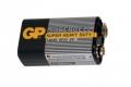 Батарейка 6F22 9V GP1604C-S1 марганцево-цинковая (Крона) 9В