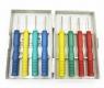 Набор трубчатых инструментов для выпаивания 8 предметов, диаметры 0.8, 1.0, 1.2, 1.4. 1.6, 1.8, 2.0