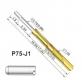 Пружинный контакт-зонд P75-J1, (15.85мм, диаметр 0.74мм, давление пружины 180г)