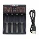 Зарядное устройство LiitoKala Lii-402 для 1-4 аккумуляторов Li-Ion, Li-Pol, LiFePo4, Ni-MH/Cd типа A, AA, AAA, 18650, 14500 и т.д. с питанием от USB