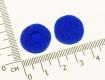 Поролоновые амбушюры для наушников 16-18мм фиолетовые (пара)