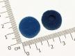 Поролоновые амбушюры для наушников 16-18мм серо-синие (пара)