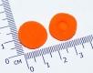 Поролоновые амбушюры для наушников 16-18мм оранжевые (пара)