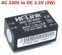 HLK-PM03 AC/DC  220В - 3.3В,  конвертер изолированный, 5В  0.9A, Hi-Link