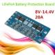 Контроллер заряда разряда BMS 4S 20A 8-14.4В для 4 LiFePo аккумуляторов