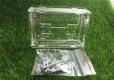 Корпус для цифрового регулятора температуры W1401, прозрачный, 88*60*28мм
