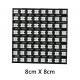 Светодиодная сборка CJMCU  WS2812B-64, панель 64 smd RGB 5050 светодиодов WS2812, 4-7В, последовательный интерфейс, размер 65*65мм