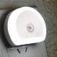 Светильник - ночник светодиодный с датчиком освещенности и двумя портами USB 1А, 110-220В