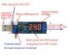 DC/DC конвертер регулятор Step Up & Step Down 2 в 1, вход 3.5В-12В выход 1.2В-24В с вольтметром