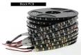 Гибкая светодиодная лента SMD 5050 60 светодиодов/метр, белый теплый цвет, влагозащищенная, черная подложка