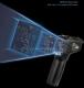 Профессиональный бесконтактный инфракрасный ИК-термометр (пирометр) RICHMETERS 550PRO -50°С +550°С с цветным ЖК-экраном и измерением влажности