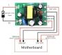 Источник питания - AC/DC изолированный преобразователь - конвертор 110/220В - 5В 100мА и 12В 500мА