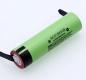 Аккумулятор NCR18650B (Panasonic) 3400mAh 3.7В 10.96Wh максимальный ток 5А с приваренными контактами