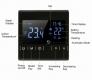 Термостат MH1822 - регулятор теплых полов с сенсорным управлением, 2 датчика температуры, недельный график