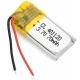 Литий-полимерный аккумулятор 3,7В  041120 401120 70mah (устройства: навигаторы, радиоуправляемые игрушки)