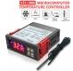 Цифровой двойной (климат-контроль тепло/холод) регулятор температуры с термопарой, STC-3000, -50 ~ +120 градусов Цельсия, 110 ~ 240В, два реле 250В 10A