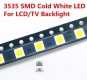 Светодиод SMD 3535, ультра яркий белый цвет 2Вт  6В - 6.8В 250-300мА, аналог LG innotek 3535 LED LATWT391RZLZK и SBWVL2S0E