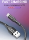 Кабель USB Type C - USB 2м, максимальный ток 2.4А, с защитой от изломов, USLION