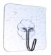 Крючок на самоклеящейся подложке 6*6 см для ванной комнаты и кухни, выдерживает вес до 25кг