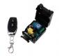 Дистанционное радиоуправление нагрузкой с брелком + корпус для модуля, частотой управления 433мГц,  реле 10А 220В, питание 220В