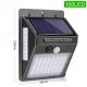 Светильник влагозащищенный светодиодный на солнечной батарее с PIR датчиком движения и освещенности, 100 LED
