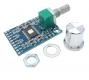 Компактный готовый стерео усилитель класса D на TPA3116D2 2 х 50Вт, 12-24В с регулятором громкости