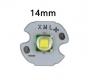 Сверхяркий светодиод Cree Die XML T6 10W 3000mA 1100Lm белый цвет подложка 14мм