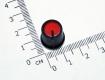 Ручка из пластика красная, черный корпус (одноместные, двухместные потенциометры, высокое качество)