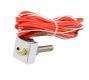 Алюминиевый блок для экструдера MK7 MK8 20*20*10мм с нагревателем 40Вт, термистором и насадкой 0,4мм