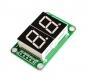 Цифровой светодиодный модуль дисплея, 2 сегментный,74HC595, зеленый
