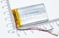 Литий-полимерный аккумулятор 3,7В  063040 603040 800mah (устройства: Bluetooth, MP3, MP4, игрушки  )