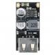 DC-DC фиксированный преобразователь MH-KC24-1, вход 6-32В, выход 5-9-12В, протоколы QC2.0, QC3.0, MTK PE1.1/2,0, Apple, Samsung AFC, Huawei FCP, Spreadtrum SFCP, ток 0-3.4А, 1 USB порт